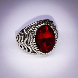 Other - 🎀 Ruby Solitary Ring